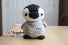 Amigurumi Crochet Pattern  Pippin the Penguin von littlemuggles