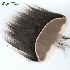 61.71$  Buy here - http://alios1.worldwells.pw/go.php?t=32782492108 - Soft Hair Products 13*4 Full Swiss Lace Frontal Free Part 60-90g Black Color Gorgeous Vietnamese Straight Hair Fast Shipping 61.71$