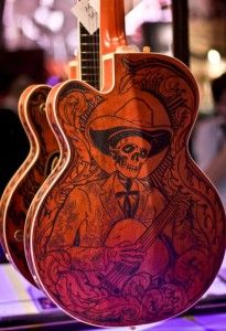 Best Guitar Pictures...wood burning design on guitar...http://playtheguitarvideos.com