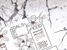 Dozens of Gorgeous Mood Trackers That Will Make Your Soul Smile Arc Planner, Passion Planner, Erin Condren Life Planner, Happy Planner, Printable Stickers, Planner Stickers, Organization Bullet Journal, Calligraphy For Beginners, Planning Calendar