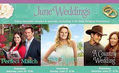 Hallmark June Wedding month