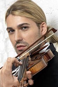 David Bongartz Garrett, one of the most fabulous violonist in the world