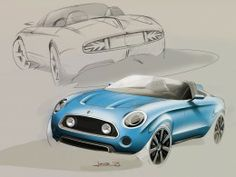 MINI Superleggera Vision Concept Design Gallery