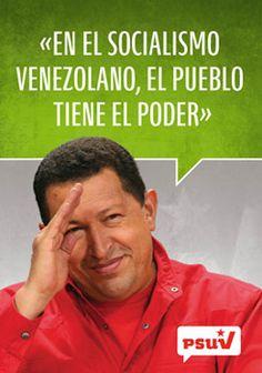 En el socialismo venezolano, el pueblo tiene el poder