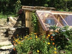 How to build an earth-sheltered greenhouse.  Fairly detailed steps documenting their process.
