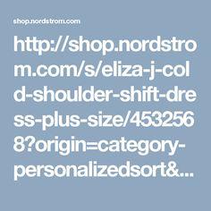 http://shop.nordstrom.com/s/eliza-j-cold-shoulder-shift-dress-plus-size/4532568?origin=category-personalizedsort&fashioncolor=RED