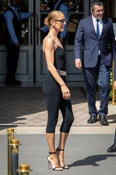 Céline Dion en combinaison Chanel / GettyImages