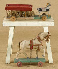 Antique toys.