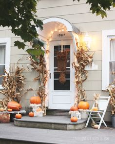 Thoughts from Alice: Fall Home Tour 2014