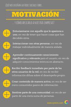 Lo que nos enseñan las #RedesSociales sobre #motivacion