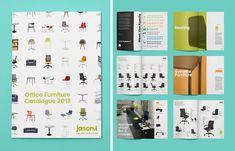 Catalogue for JasonL, an office furniture retailer. ~Re: | #branding #identitydesign