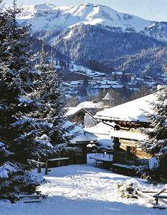 Les Fermes de Marie, Megeve, France...The Alps.