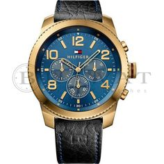 Buy Tommy Hilfiger Men Blue Dial Chronograph Watch - Watches for Men Trendy Collection, Men Online, T 4, Chronograph, Tommy Hilfiger, Watches For Men, Fashion Accessories, Stuff To Buy, Gallery