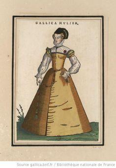 [Ensemble de gravures de costumes français du XVIe siècle] : [estampe] --1600