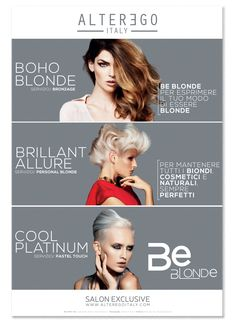 BE BLONDE | Alter Ego Italy