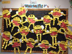 Valentine Bees Bulletin Board