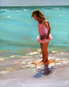 Carol  Morgan Carmichael paints - Birmingham, AL---love watercolor art for a beach house!