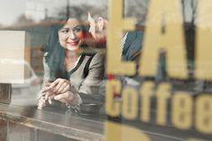 Coffee Shop Photo Shoot Coffee shop engagement toronto