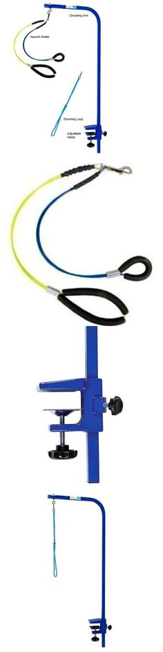 Grooming Tables 146241: Grooming Arm With Clamp Adjustable Arm And Dog Grooming Loop Small Medium Blue -> BUY IT NOW ONLY: $63.99 on eBay!