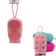 bath brush Silicone Face Brush, Body Scrubber, Bath Brushes, Body Brushing, Shower Cleaner, Bath And Body, Fashion Backpack, Massage, Owl