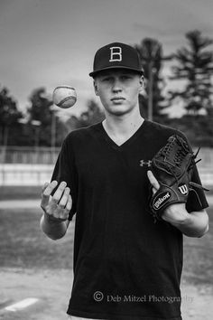 Jake, a Brainerd High School Senior and Baseball Player, photographed by Deb Mitzel Photography in Nisswa, MN.  #seniorphotos #brainerd #debmitzelphotography #brainerdhighschool #baseball #sportsphotos #seniorsportsphotos