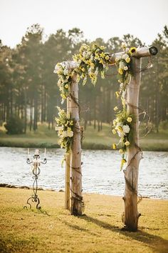 18 Sunflower Wedding Decor Ideas ❤ See more: http://www.weddingforward.com/sunflower-wedding-decor-ideas/ #weddings #rustic