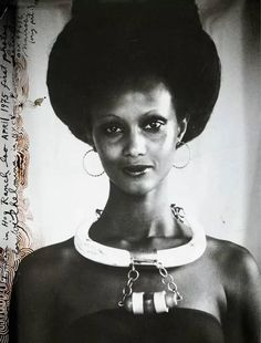Image result for Iman photos by Scavullo