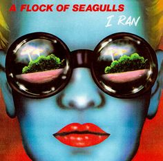 """""""I Ran (So Far Away)"""" is a song by English New Wave band A Flock of Seagulls. It was released on their debut album A Flock of Seagulls in 1982 and was its mo. So Far Away, New Wave Music, Classic Album Covers, New Retro Wave, One Hit Wonder, 80s Music, Sound Music, Post Punk, Best Songs"""