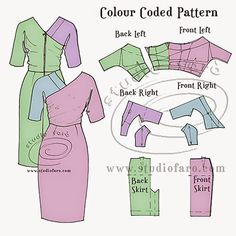 well-suited: Pattern Puzzle - The Kimono Wrap Dress