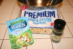 A staple, and frequent request, when I was growing up. My mom would add pretzels and peanuts to the mix. So freaking good! Seasoned Oyster Crackers, Ranch Oyster Crackers, Seasoned Pretzels, Fall Snacks, Party Snacks, Appetizer Recipes, Snack Recipes, Appetizers, Homemade Soft Pretzels