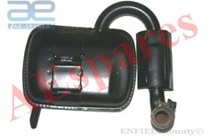 NEW VESPA SILENCER EXHAUST CONVERTER TYPE PX125 PX150 LML SCOOTERS