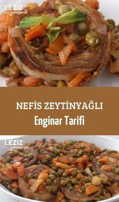 Nefis Zeytinyağlı Enginar Tarifi