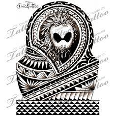 Ikaika Warrior Half Sleeve (Hawaiian) | Design #111394 | CreateMyTattoo.com
