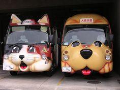 Kindergarten Buses in Japan