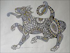 celtic lion