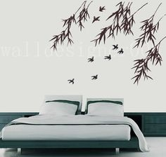 Vinyl Wall Decal Wall Sticker Art  birds with by walldecals001, $42.00