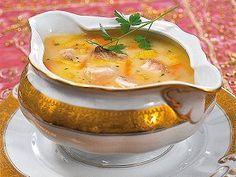 Tradiční rybí polévka — Kluci v akci — Česká televize Cheeseburger Chowder, Mashed Potatoes, Soup, Fish, Cooking, Ethnic Recipes, Straws, Whipped Potatoes, Cucina