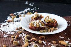Pistachio-Coconut Stuffed Dates by Cassie Johnston