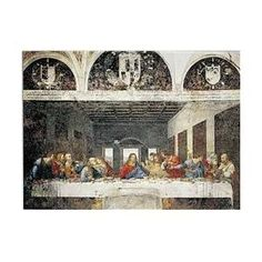 Editions Ricordi 2801N09640G Leonardo DA Vinci - Ultima Cena 1000 Pieces Puzzle