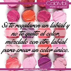 Mezcla los colores de tus #labiales, en especial si alguno no te gusto. #belleza #maquillaje