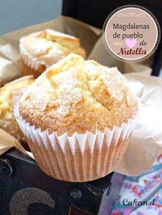 Con y sin Thermomix. - Sweets for my sweeties - Muffins