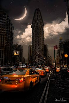 Flatiron Fantasy by Gina Brake @nyc_ph0t0 | via newyorkcityfeelings.com - The Best Photos and Videos of New York City including the Statue of Liberty Brooklyn Bridge Central Park Empire State Building Chrysler Building and other popular New York places and attractions.
