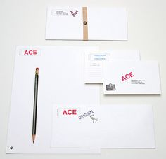 Ace Hotel / Collateral: Pendleton Blankets, Stationery, Keycards / The Official Manufacturing Company
