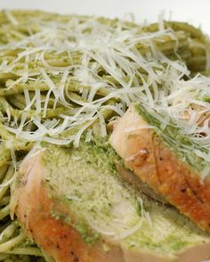 Spinach Pesto Pasta | Spinach Pesto Pasta
