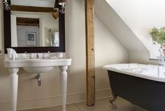 Each Superior Room offers contemporary comforts and gadgets and has been designed using an individual colour scheme, fabrics and bespoke furniture. The George In Rye, Attic Bathroom, Bathrooms, Boutique Hotel Room, Queen Room, Superior Room, Bespoke Furniture, East Sussex, Best Hotels