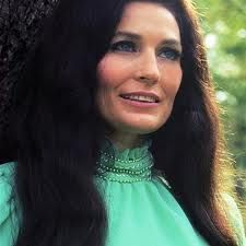 """Known as Country music singer-songwriter Loretta Lynn , she was one of the leading country vocalists and songwriters during the and The movie """"Coal Miners Daughter"""" is based on her life story. Born in Butcher Hollow, Kentucky. Country Music Artists, Country Music Stars, Country Singers, Loretta Lynn, I Love Music, Good Music, George Strait, Cinema, Selena Quintanilla"""