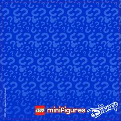 LEGO Minifigures 71012 - Series Speciale Disney - Display Frame Plain Background…