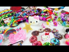 My Mini collection of DIY kawaii Accessories - I made these this week mostly - YouTube