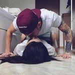 "Couple Lifestyle ™ on Instagram: ""Kissing on the floor ? #oursurething"""