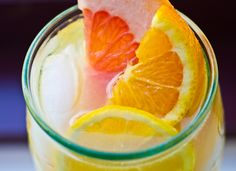 Triple Citrus Lemonade: Grapefruit, Orange, and Lemon #lemonade